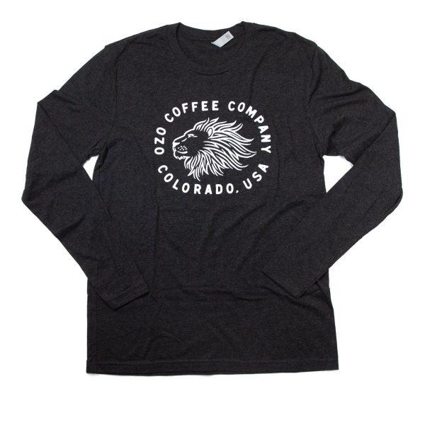 OZO Lion T shirt Charcoal