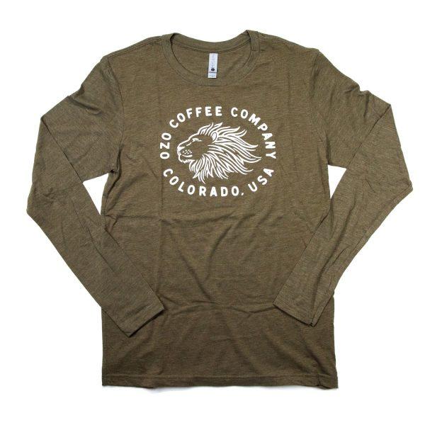 OZO Lion T shirt Green
