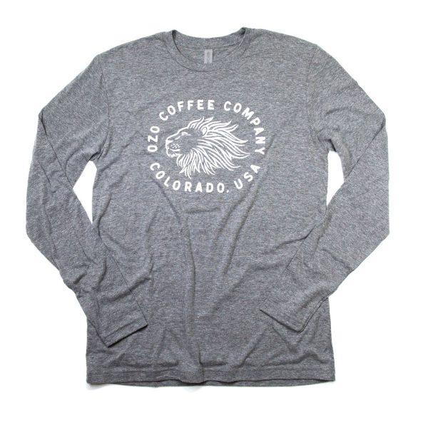 OZO Lion T shirt Grey