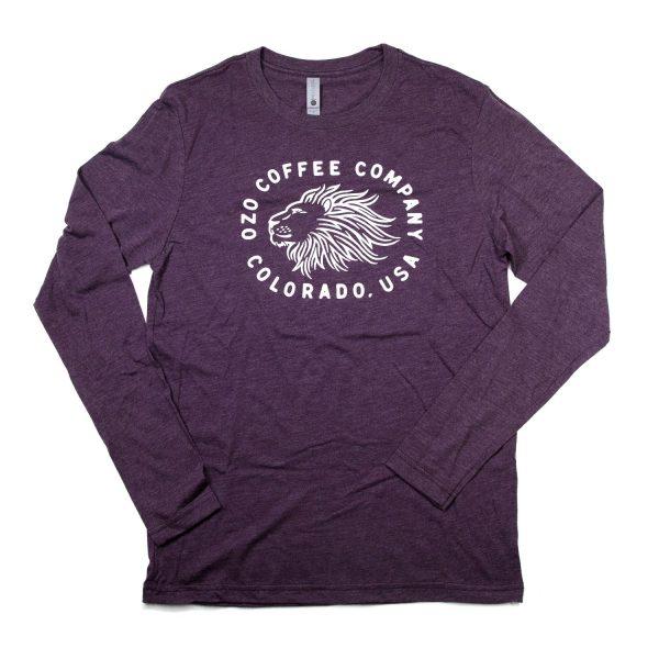 OZO Lion T shirt Plum